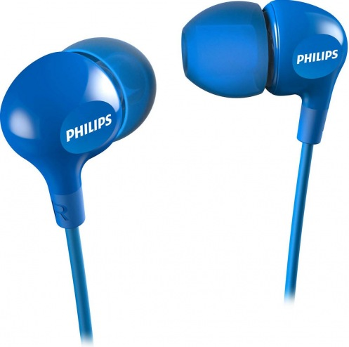 Наушники PHILIPS SHE3550BL Blue (SHE3550BL/00)