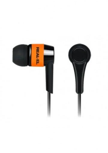 Наушники REAL-EL Z-1005 black-orange