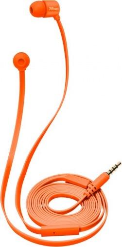 Наушники TRUST Duga Neon Orange (22111)