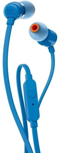 Наушники JBL T110 Blue (JBLT110BLU)