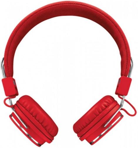 Наушники TRUST Urban Ziva Foldable Red
