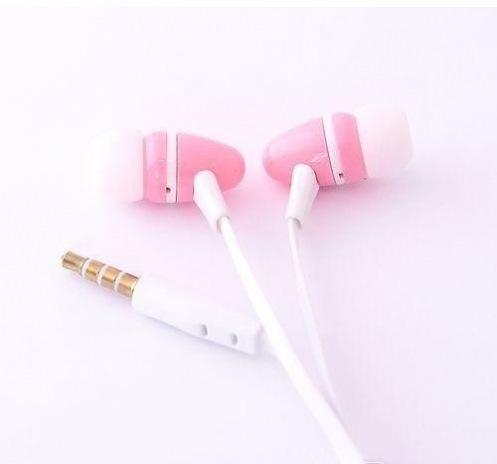 Навушники Florence M-105 white-pink (FAM105WP)