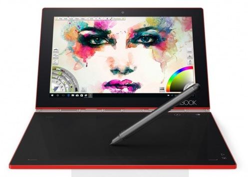 Планшет Lenovo Yoga Book 10 YB1-X91L 128Gb Ruby Red (ZA160126UA)