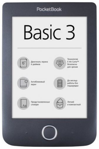 Электронная книга POCKETBOOK 614 Basic 3