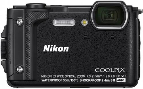 Фотоаппарат Nikon Coolpix W300 Black (VQA070E1)