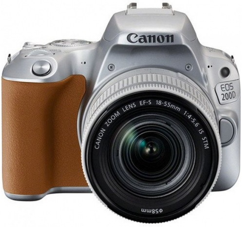 Фотоаппарат CANON EOS 200D kit 18-55 IS STM Silver (2256C006)