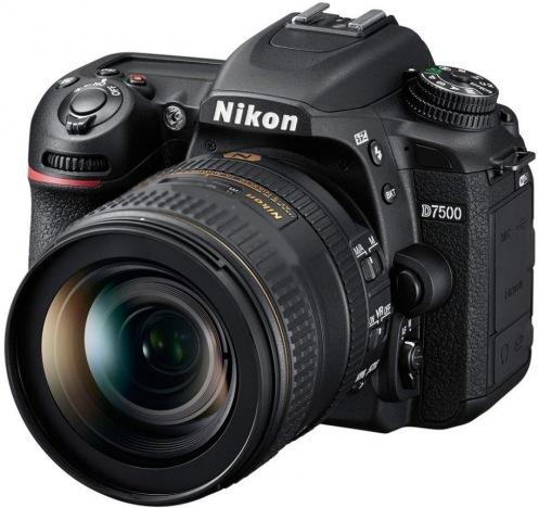 Цифровой фотоаппарат NIKON D7500 Kit AF-S DX 35 f/1.8G (VBA510K007)