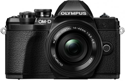 Цифровой фотоаппарат OLYMPUS E-M10 MARK III PANCAKE DOUBLE ZOOM 14-42+40-150KIT B