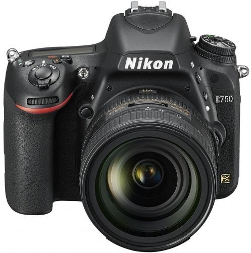 Фотоаппарат NIKON D750 Kit AF-S 24-85mm (VBA420K001)