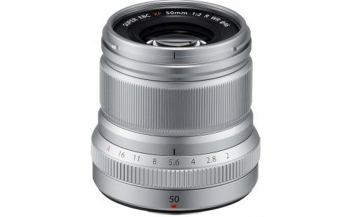 Об'єктив Fujifilm XF 50mm F2.0 R WR Silver (16536623)