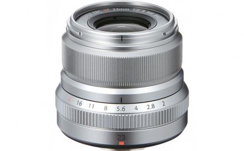Об'єктив Fujifilm XF 23mm F2.0 Silver (16523171)