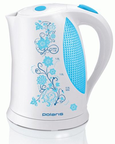 Чайник POLARIS PWK 1822 CLR White Blue