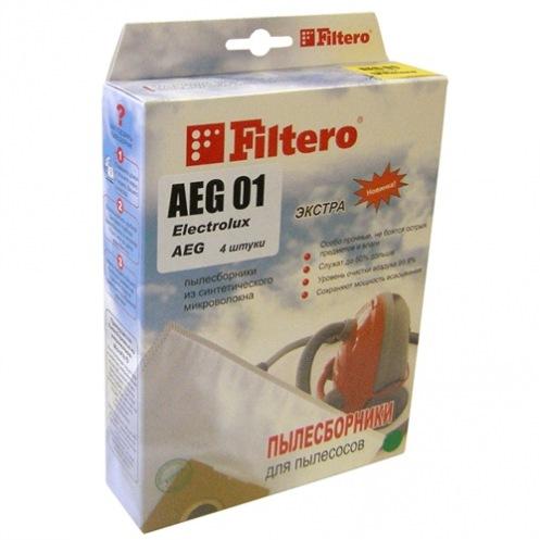 Фильтр-пылесборник FILTERO AEG 01(4) Экстра