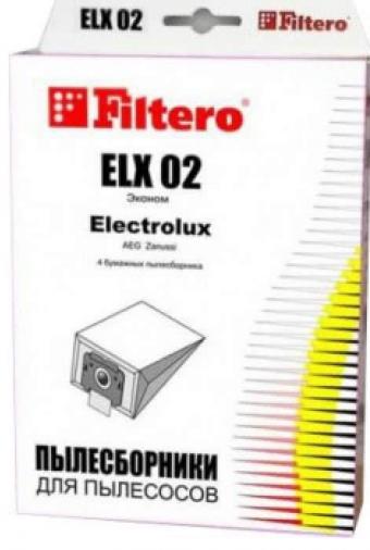 Фильтр-пылесборник FILTERO ELX 02(4) Эконом