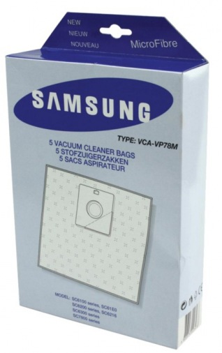 Мішок для пилососу SAMSUNG VCA VP 78 MS