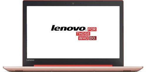 Ноутбук Lenovo IdeaPad 320 Coral Red (80XH00WRRA)