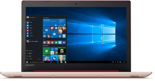 Ноутбук Lenovo IdeaPad 320 Coral Red (80XR00TMRA)
