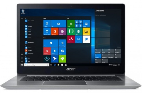 Ноутбук Acer Swift 3 SF314-52-361N Silver (NX.GNUEU.038)