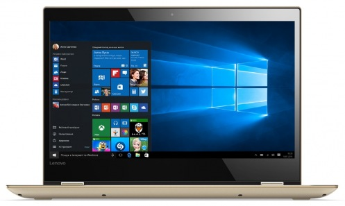 Ноутбук Lenovo Yoga 520 Touch Gold Metallic (81C800DBRA)
