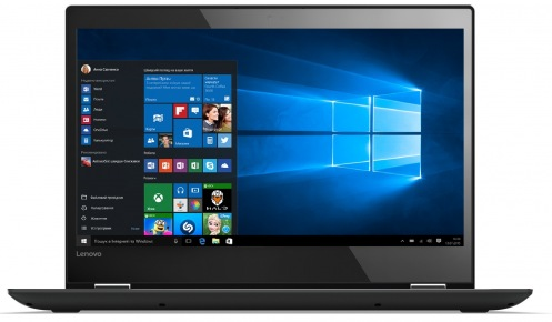 Ноутбук Lenovo Yoga 520 Touch Onyx Black (81C800DJRA)