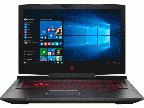 Ноутбук HP OMEN 17-an055ur Black (2LE50EA)
