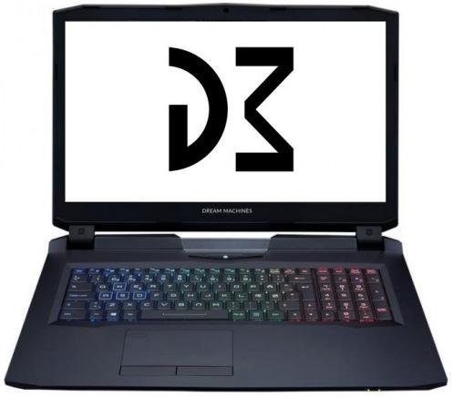 Ноутбук Dream Machines Clevo X1080-17 (X1080-17UA32)