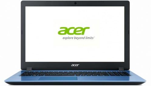 Ноутбук Acer Aspire 3 A315-51-329Q Blue (NX.GS6EU.005)