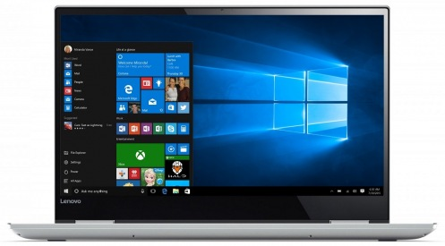 Ноутбук Lenovo IdeaPad YOGA 720-15IKB Platinum (80X700AVRA)