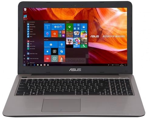 Ноутбук ASUS R558UQ-DM970T Golden (90NB0BH3-M12590