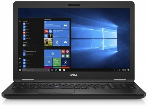 Ноутбук Dell Latitude 5580 Black (N002L558015EMEA_P)