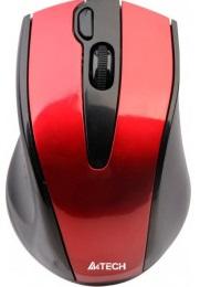 Мышь A4Tech G9-500F-3 V-Track, беспроводная, красная