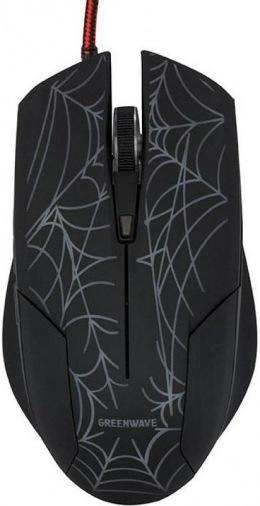 Мышь GREENWAVE KM-GM-2000 Black