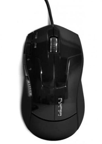 Мышь Flyper Deluxe FDG-19 USB Black