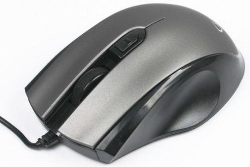 Мышь Gembird MUS-106, USB Grey/Black