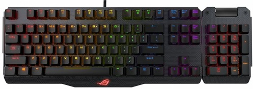 Клавиатура ASUS ROG Claymore USB MX Cherry Black UKR (90MP00E2-B0EA00)
