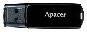 USB FD Apacer 8Gb USB 2.0 (AH322) Black