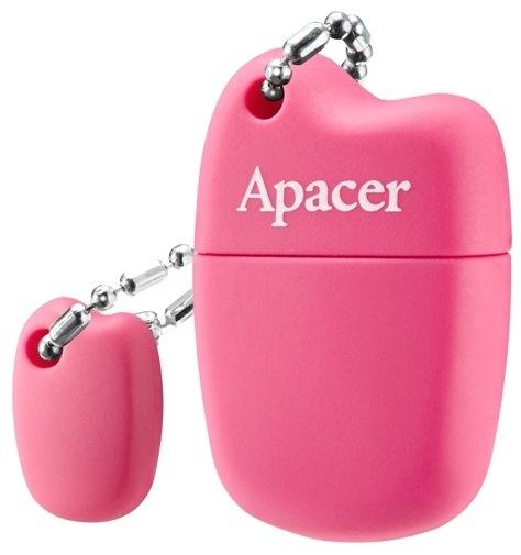 USB-накопитель Apacer 8Gb USB 2.0 (AP8GAH118P-1) Pink
