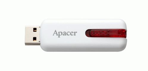 USB-накопитель Apacer 8Gb USB 2.0 (AP8GAH326W-1) White
