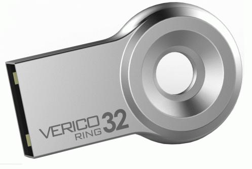 Накопитель USB 2.0 Verico 32Gb Ring Silver