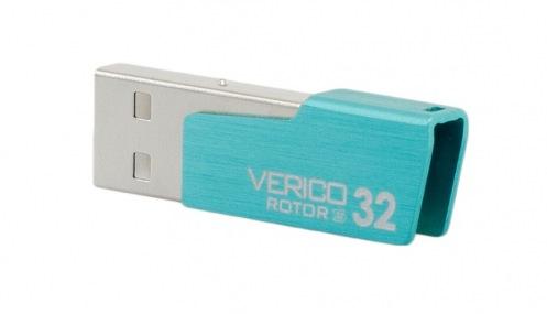 Накопитель USB 2.0 Verico 32Gb Rotor S Turquoise Blue