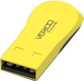 Накопитель Verico USB 8Gb Thumb Yellow+Black