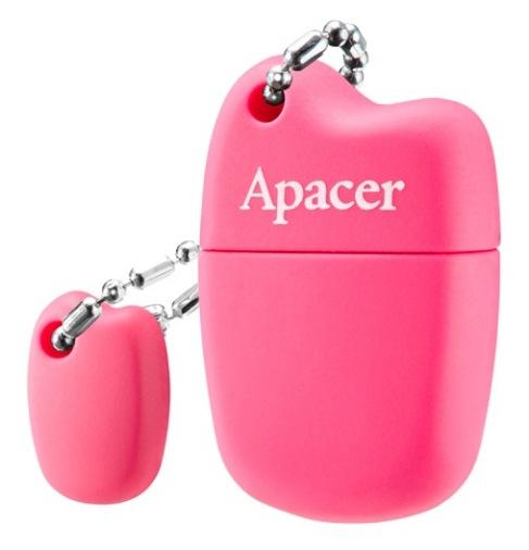 Накопитель USB 16GB Apacer AH118 Pink