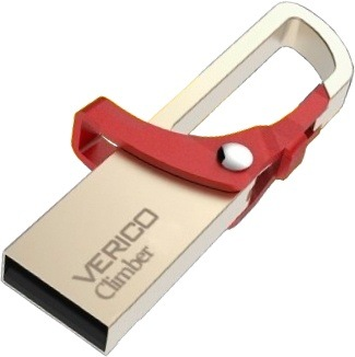Накопитель Verico USB 8Gb Climber Red