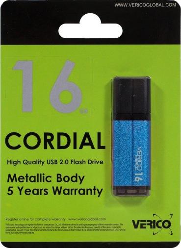 Накопитель Verico USB 16Gb Cordial SkyBlue