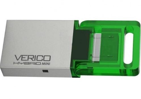 Накопитель Verico USB 16Gb Hybrid Mini Green