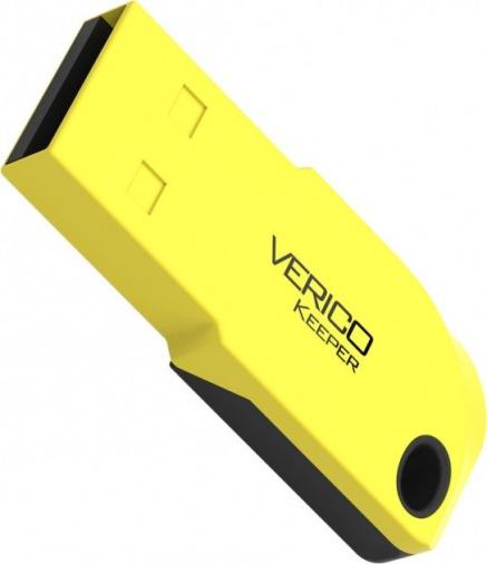 Накопитель Verico USB 16Gb Keeper Yellow+Black