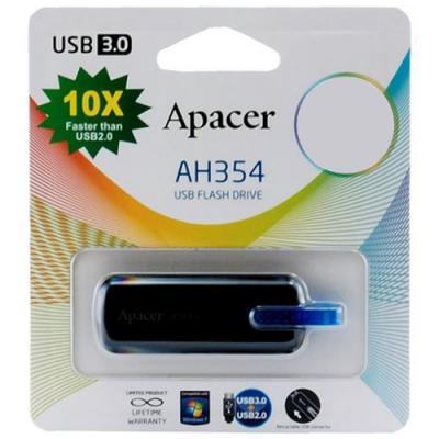 USB-накопитель Apacer 16Gb USB 3.0 (AP16GAH354B-1) Black