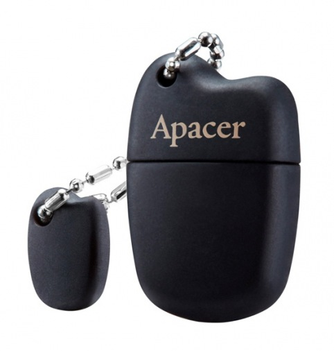Накопитель USB 16GB Apacer AH118 Black