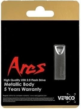 Накопитель Verico USB 16Gb Ares Black