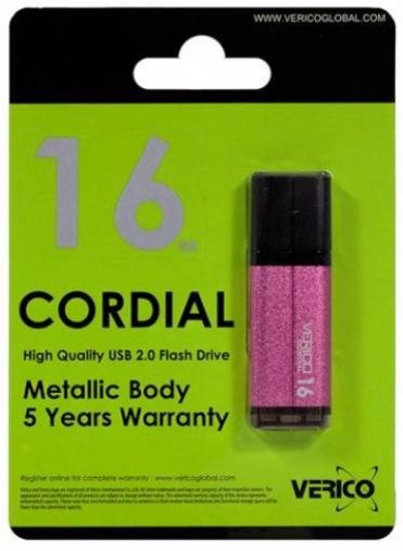 Накопитель Verico USB 16Gb Cordial Pink